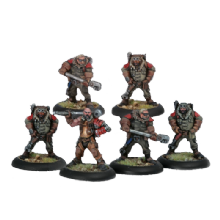 Khador Battle Mechaniks (6)